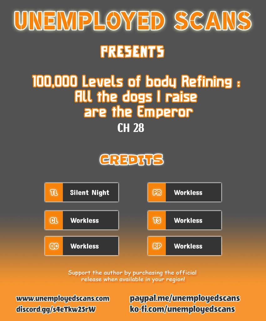 100,000 Levels of Body Refining : All the dogs I raise are the Emperor - chapter 28 - #1