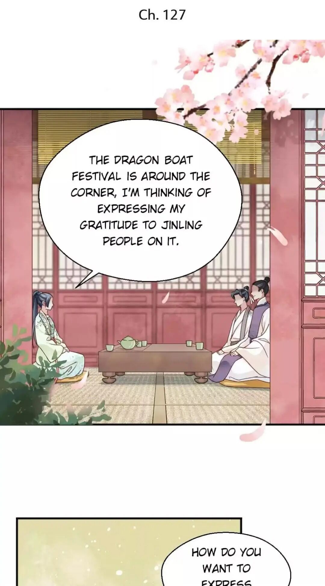 A Beauty, a Fatal Concubine - chapter 127 - #1