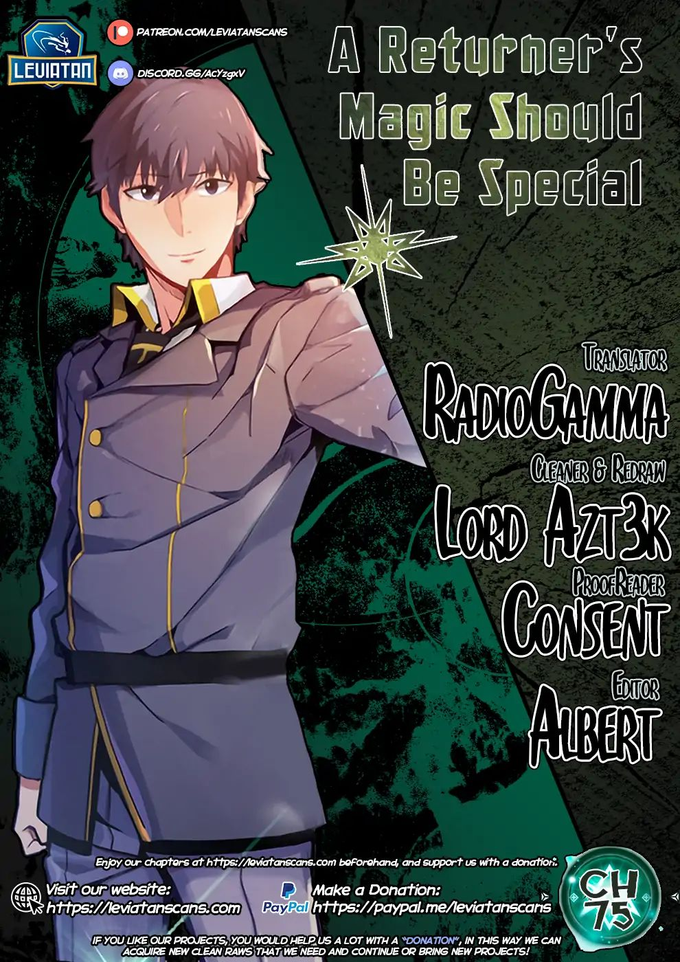 a Returner's Magic Should be Special - chapter 75 - #1