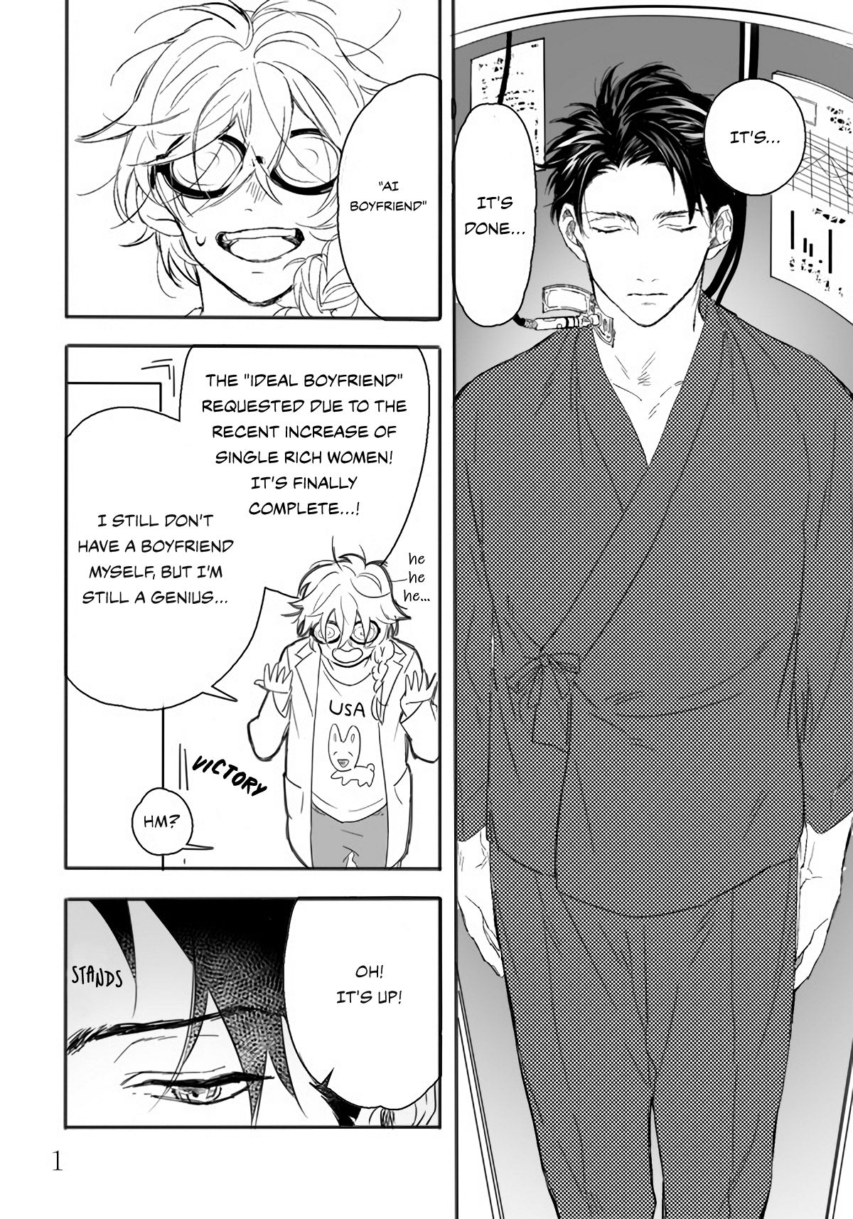 Ai Boyfriend And Unpopular Doctor - chapter 1 - #2