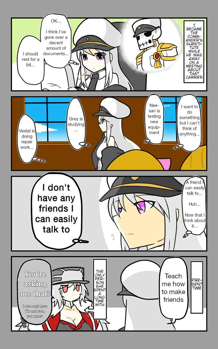 Azur Lane: Skeleton Commander and Enterprise (Doujinshi) - chapter 17 - #1