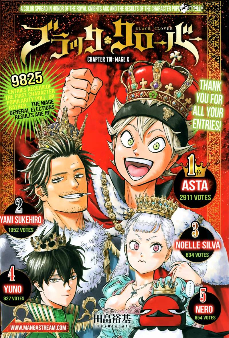 Black Clover - chapter 118 - #1