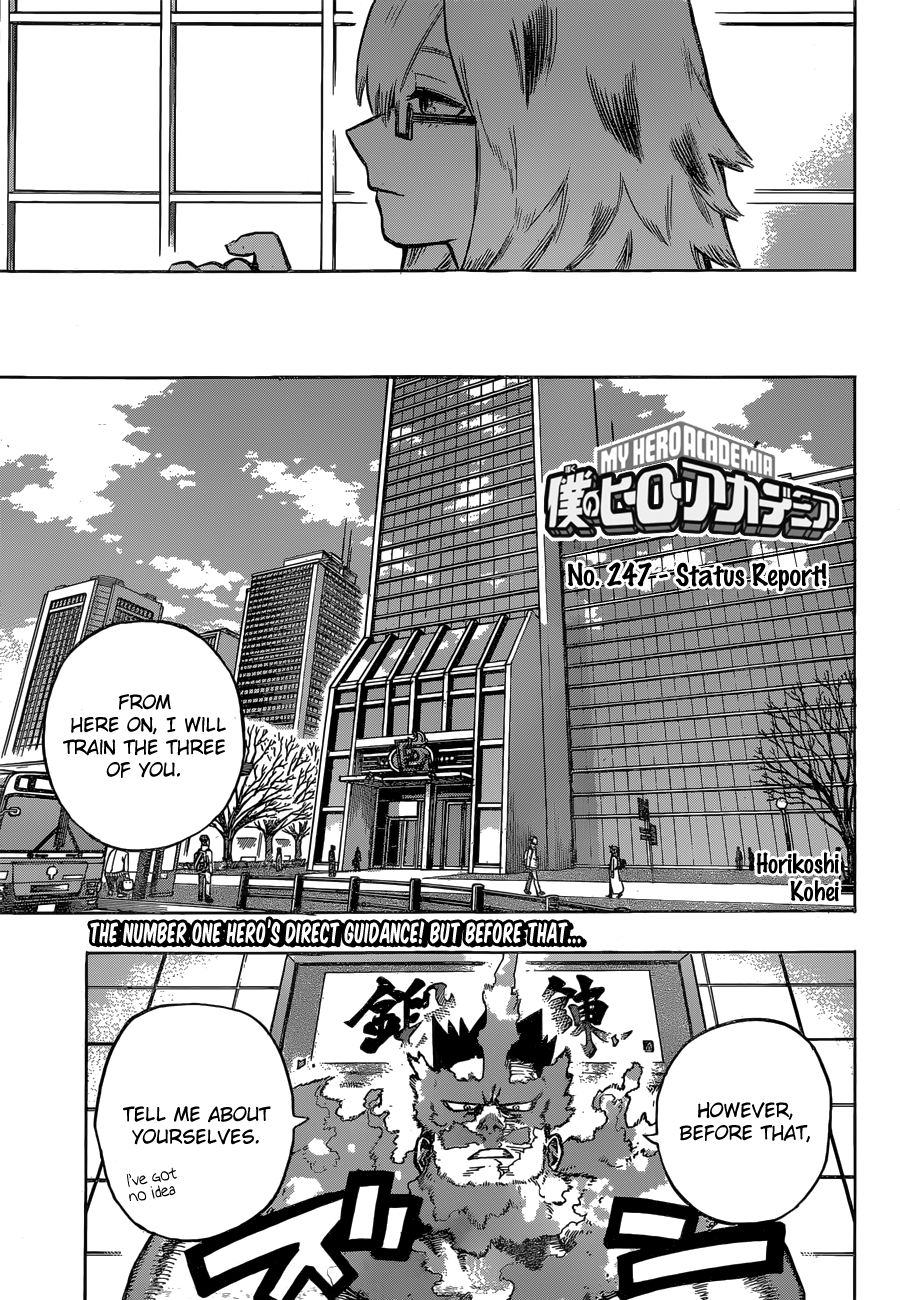 Boku no Hero Academia - chapter 247 - #1