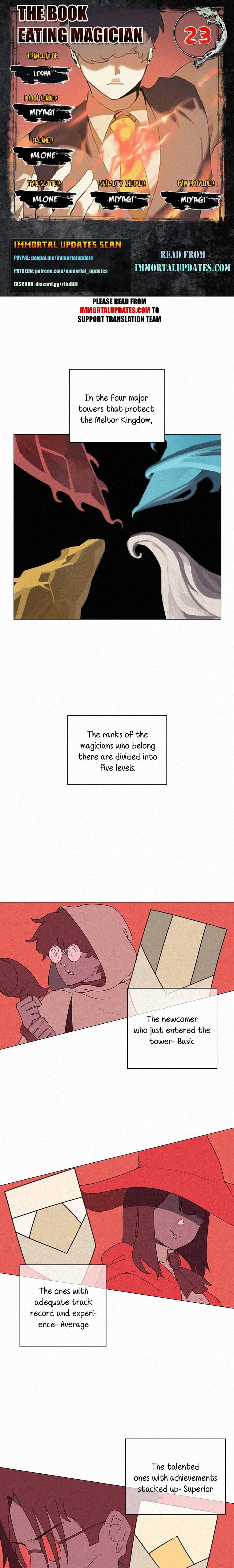The Book Eating Magician - chapter 23 - #1