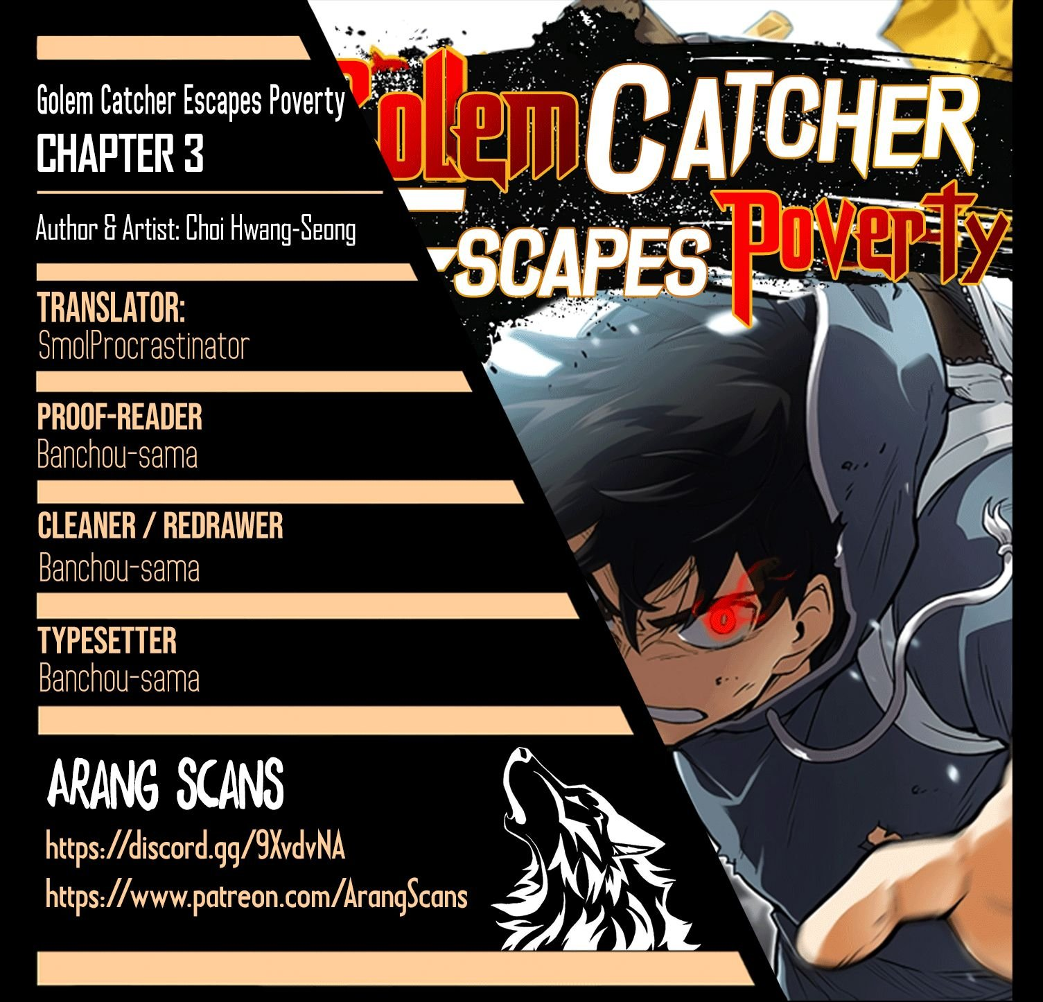 Capture the Golem and Escape Poverty - chapter 3 - #1