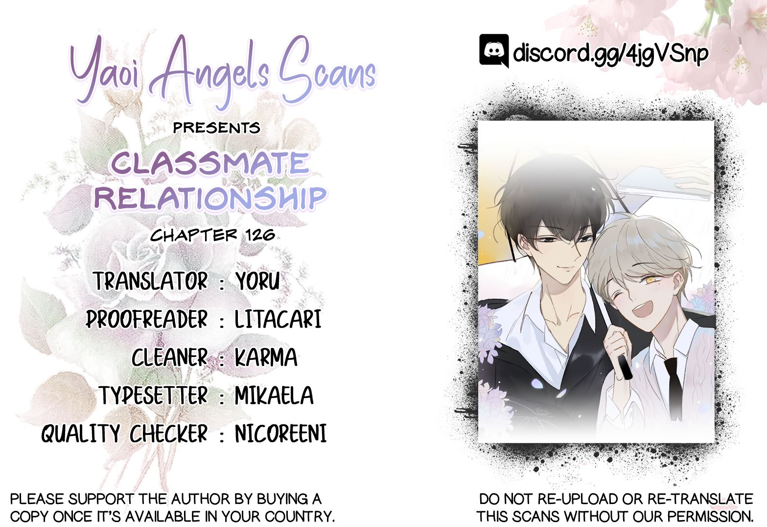 Classmate Relationship? - chapter 126 - #1