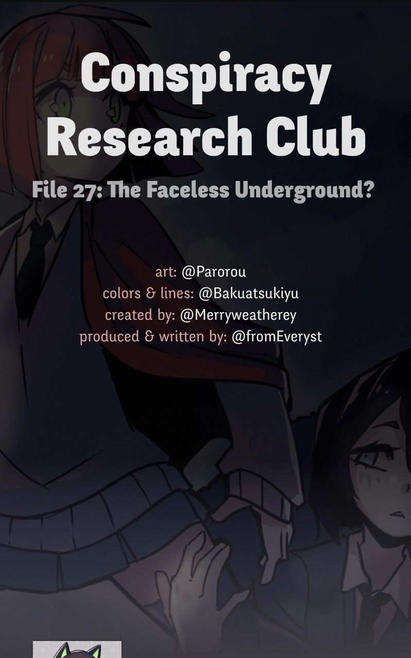 Conspiracy Research Club - chapter 27 - #1