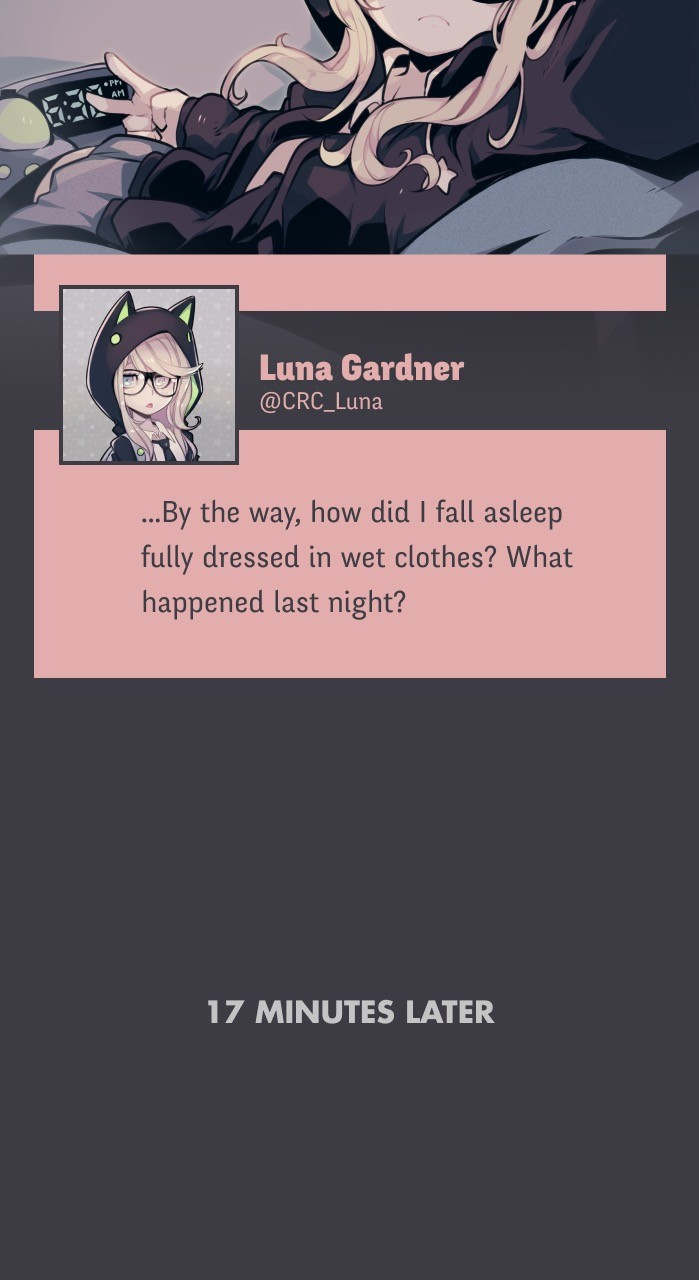 @crc_Luna: Conspiracy Research Club - chapter 15 - #3