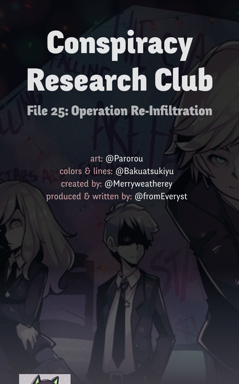 @crc_Luna: Conspiracy Research Club - chapter 25 - #1