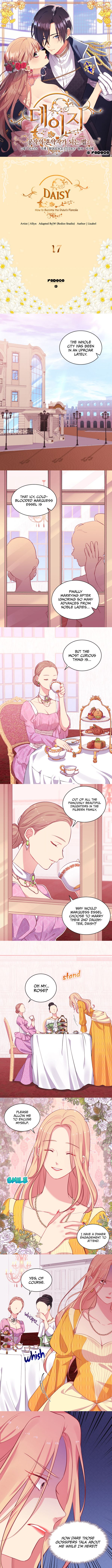 Daisy: How To Become The Duke's Fiancée - chapter 17 - #2