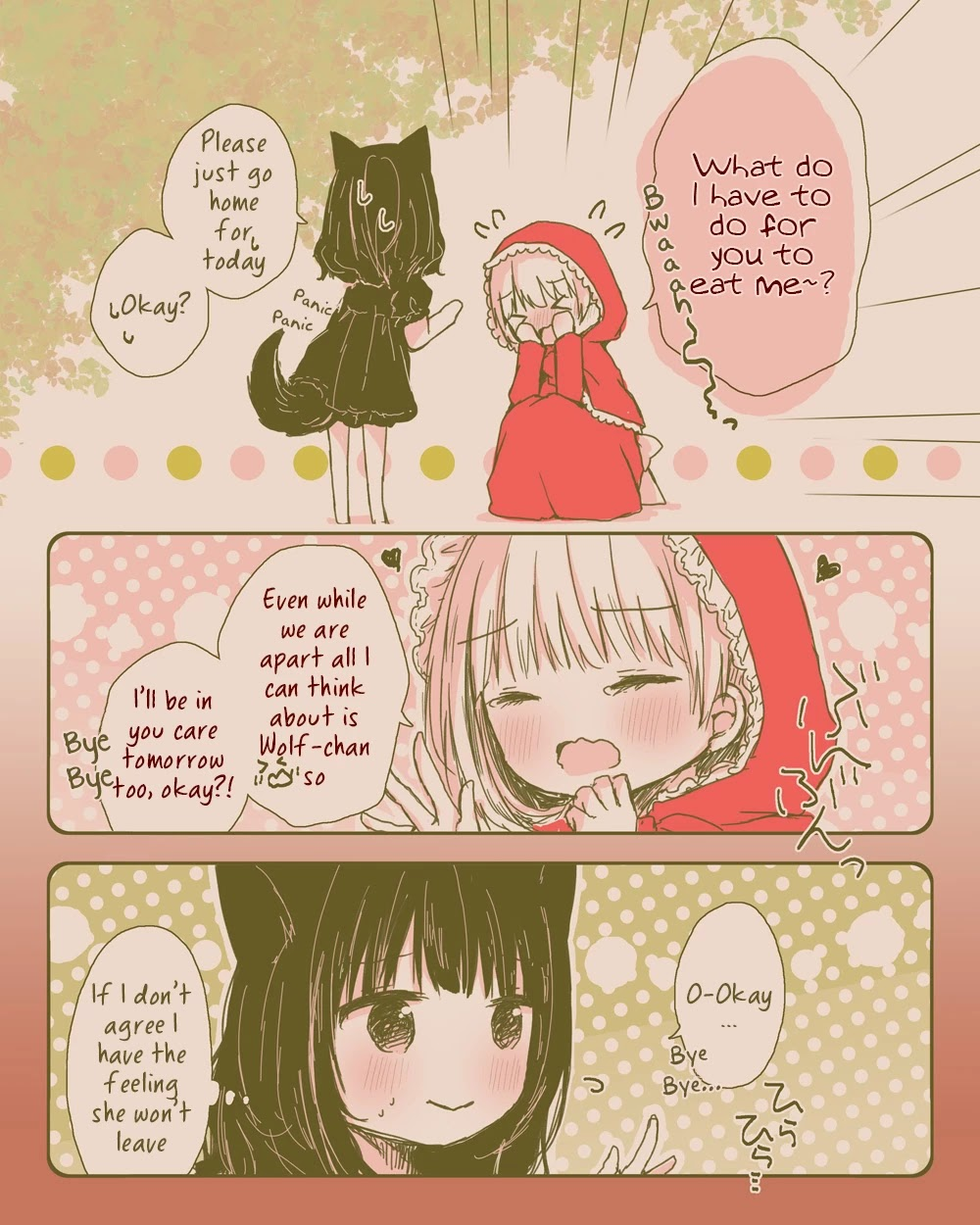 Daring Little Red Riding Hood And Herbivorous Wolf-Chan - chapter 1 - #3