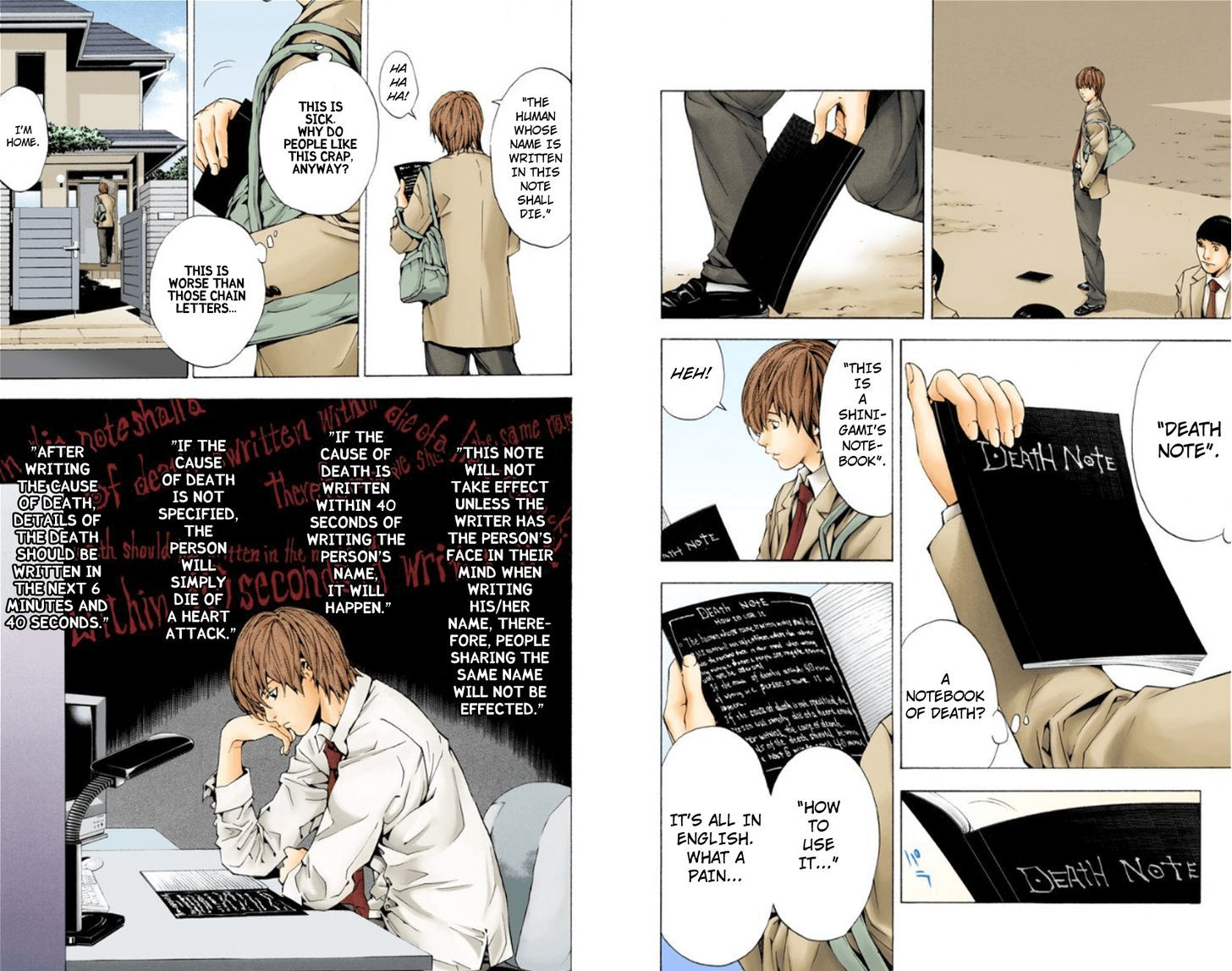 Death Note - chapter 1.1 - #6
