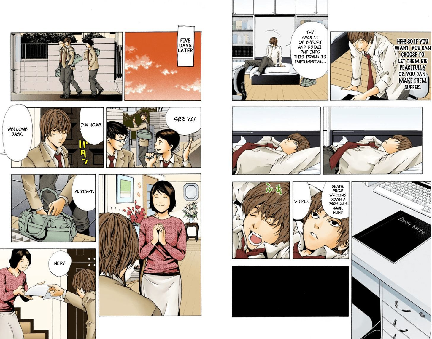 Death Note - chapter 1.1 - #7