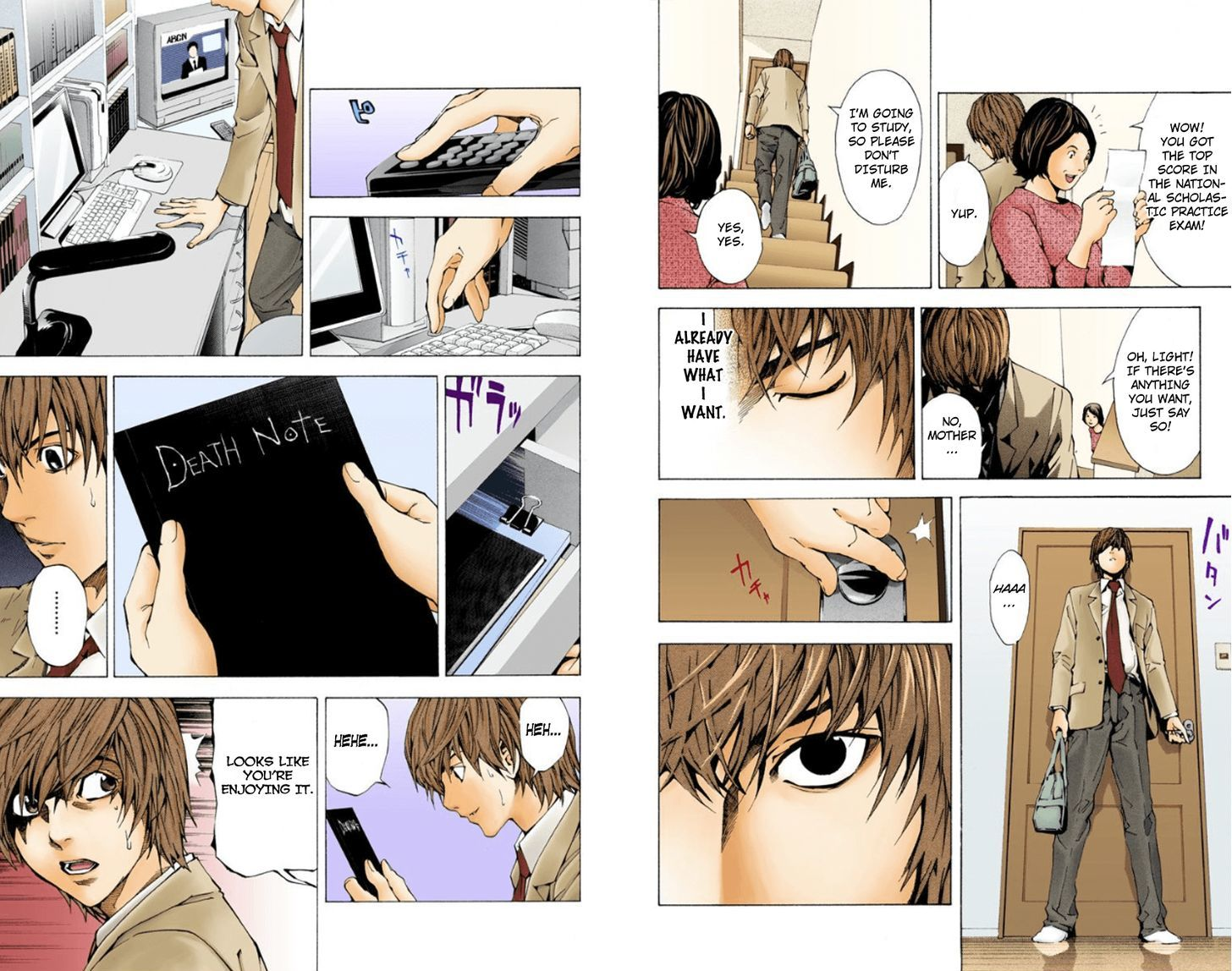 Death Note - chapter 1.1 - #8