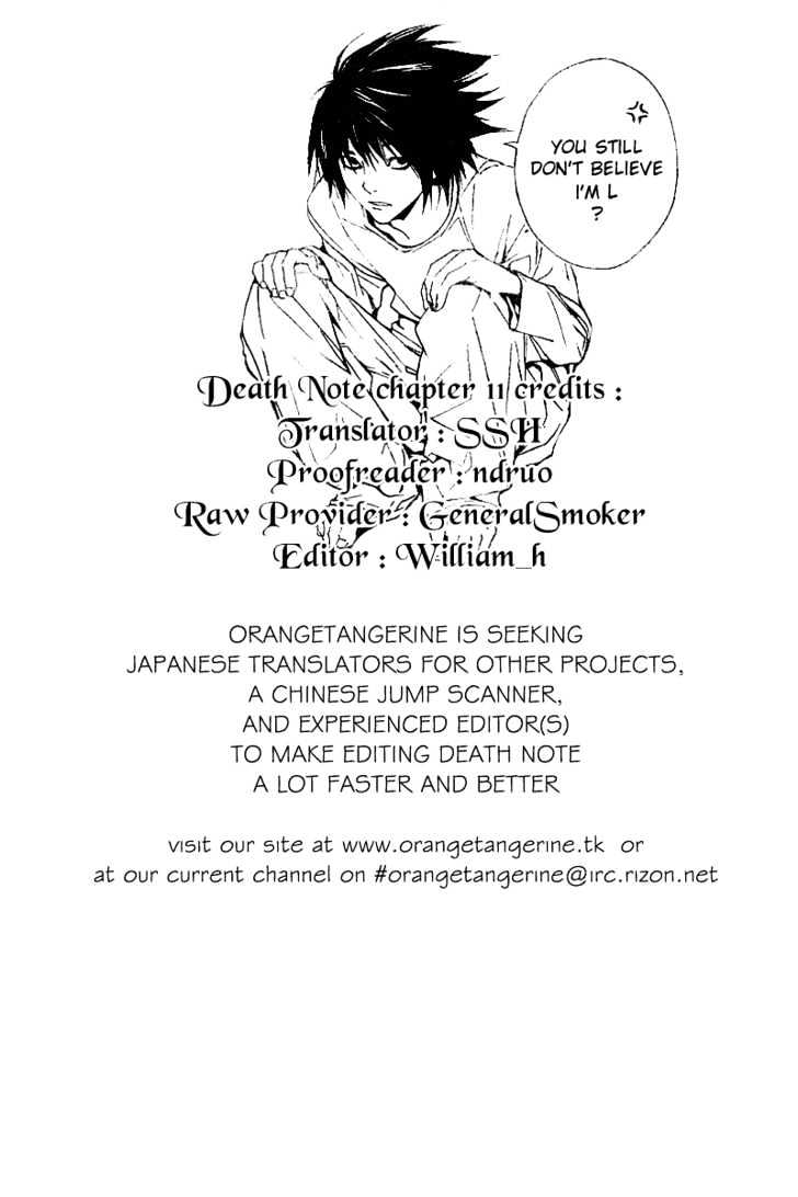 Death Note - chapter 11 - #22