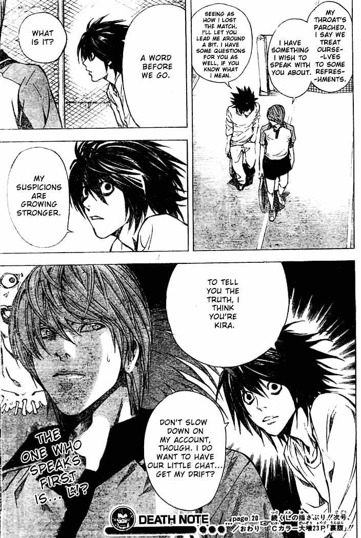 Death Note - chapter 20 - #19