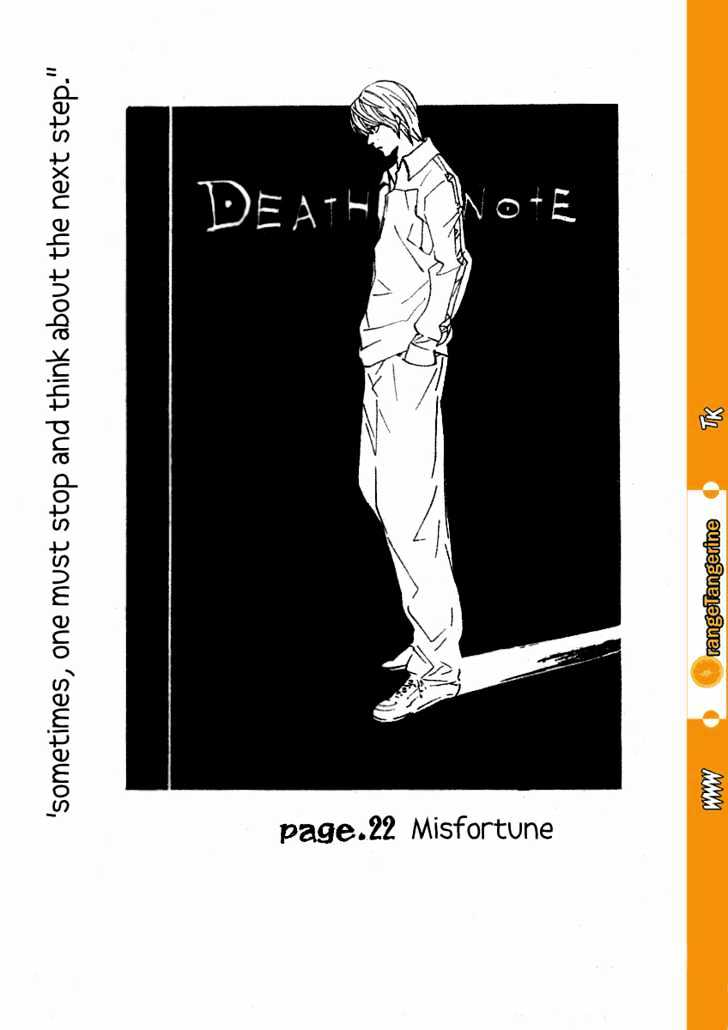 Death Note - chapter 22 - #1