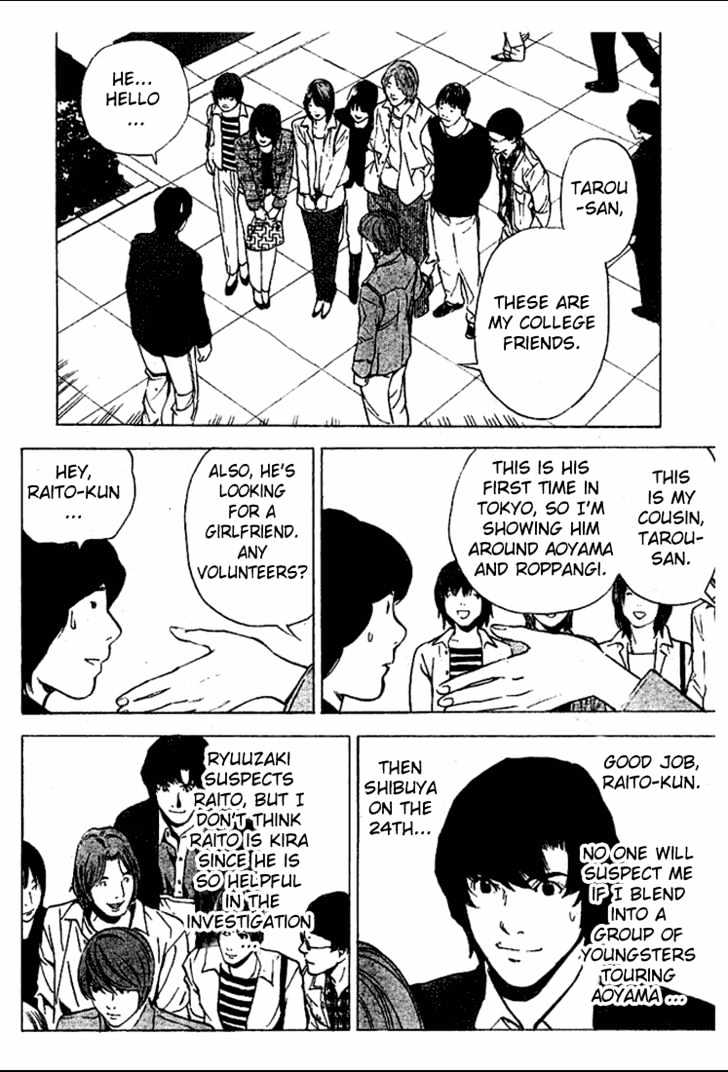 Death Note - chapter 28 - #20