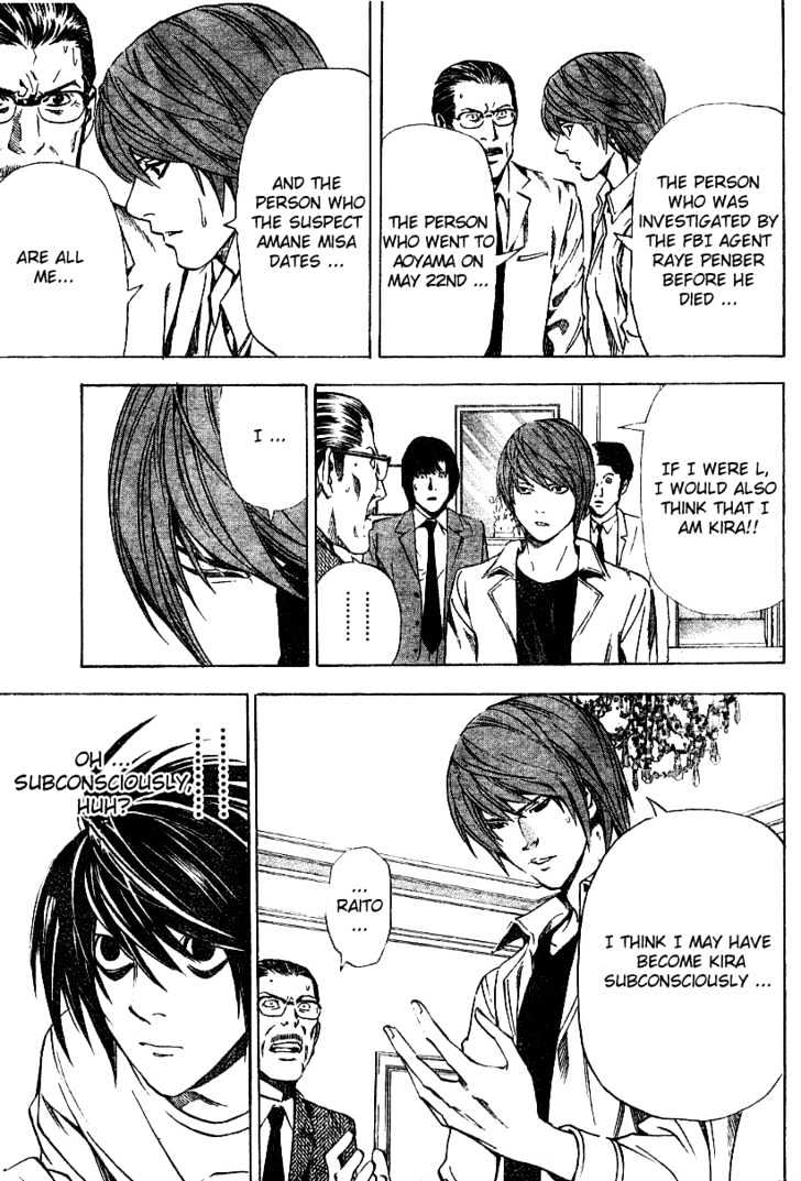 Death Note - chapter 34 - #13