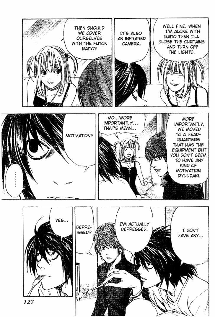 Death Note - chapter 38 - #7