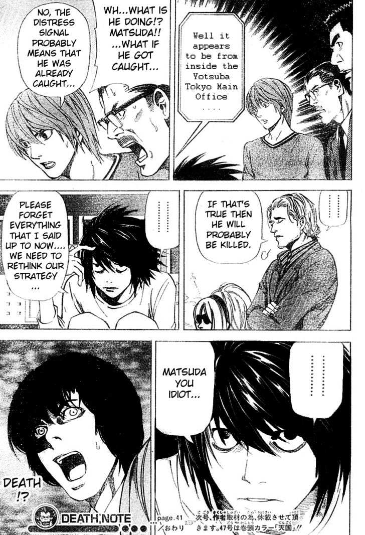 Death Note - chapter 41 - #20