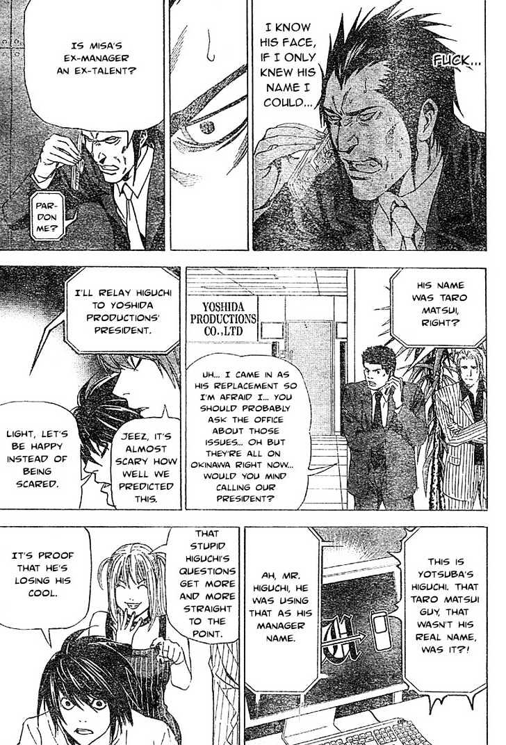 Death Note - chapter 50 - #19