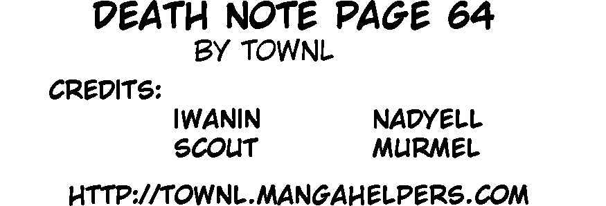 Death Note - chapter 64 - #1