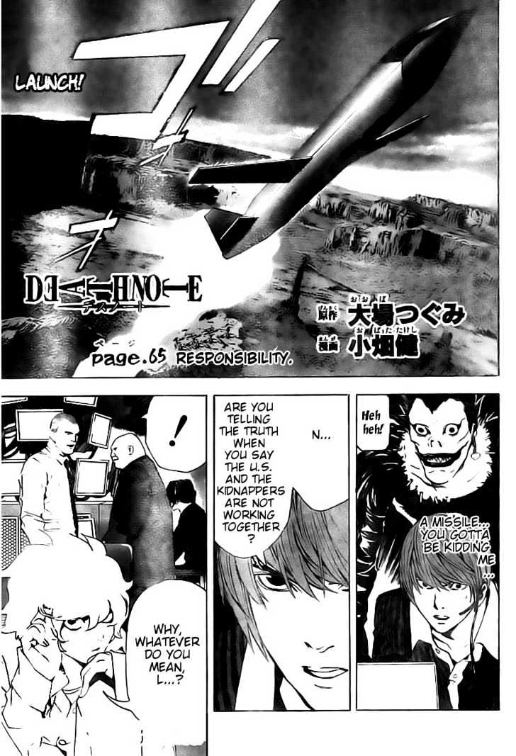 Death Note - chapter 65 - #2
