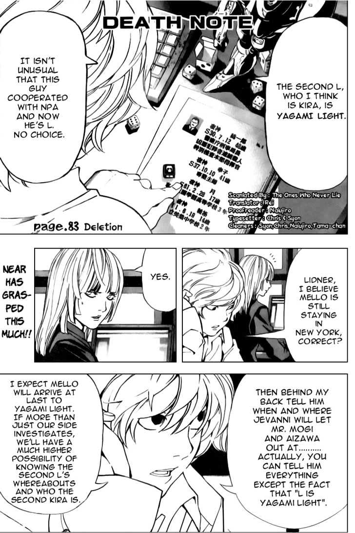 Death Note - chapter 83 - #2