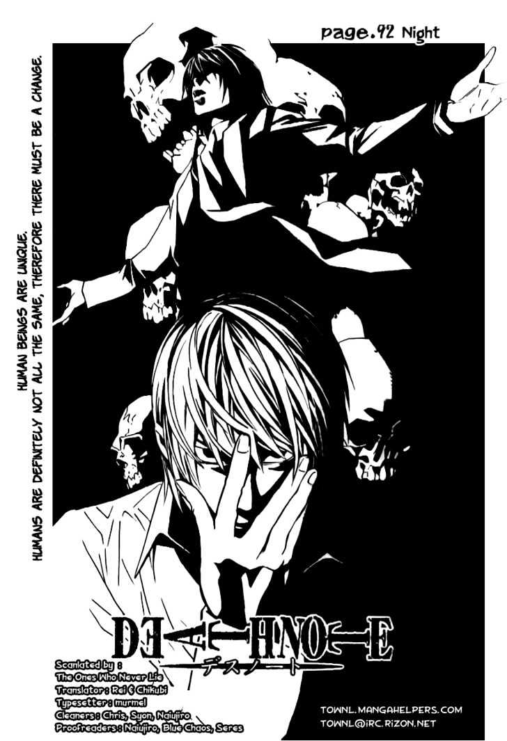 Death Note - chapter 92 - #3
