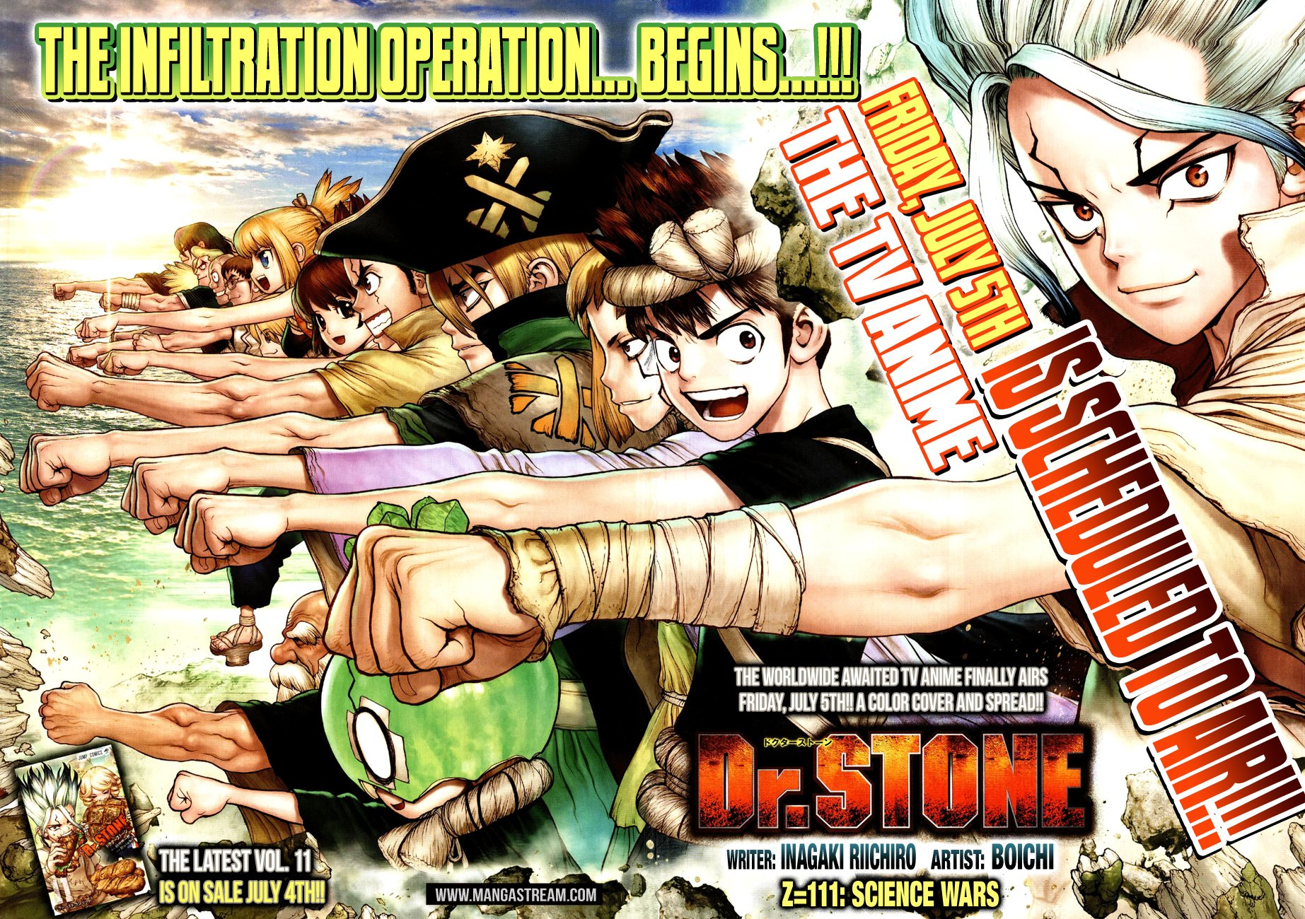 Dr. Stone - chapter 111 - #3