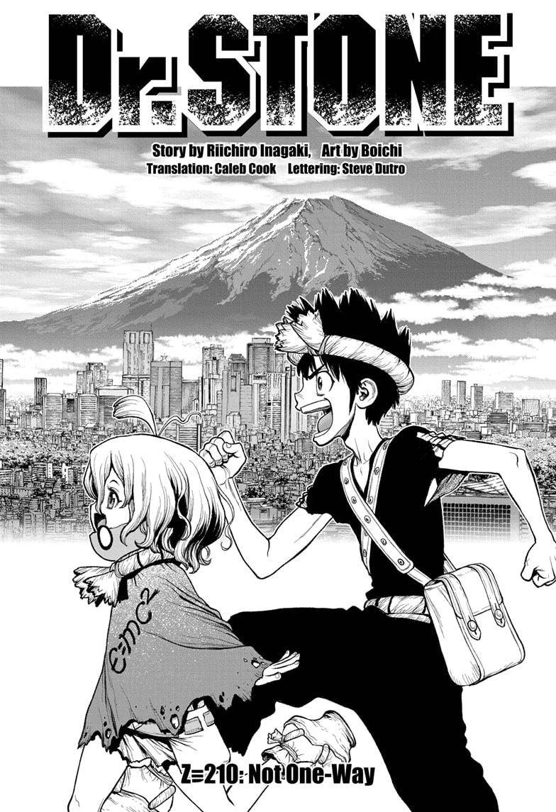 dr. Stone - chapter 210 - #1