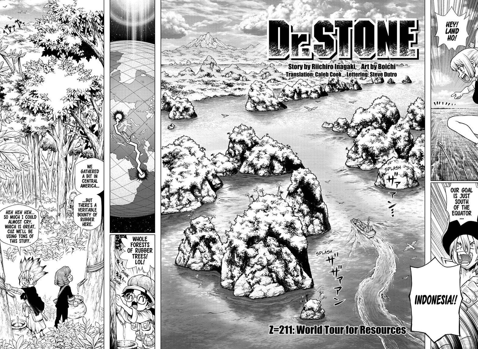 Dr. Stone - chapter 211 - #2