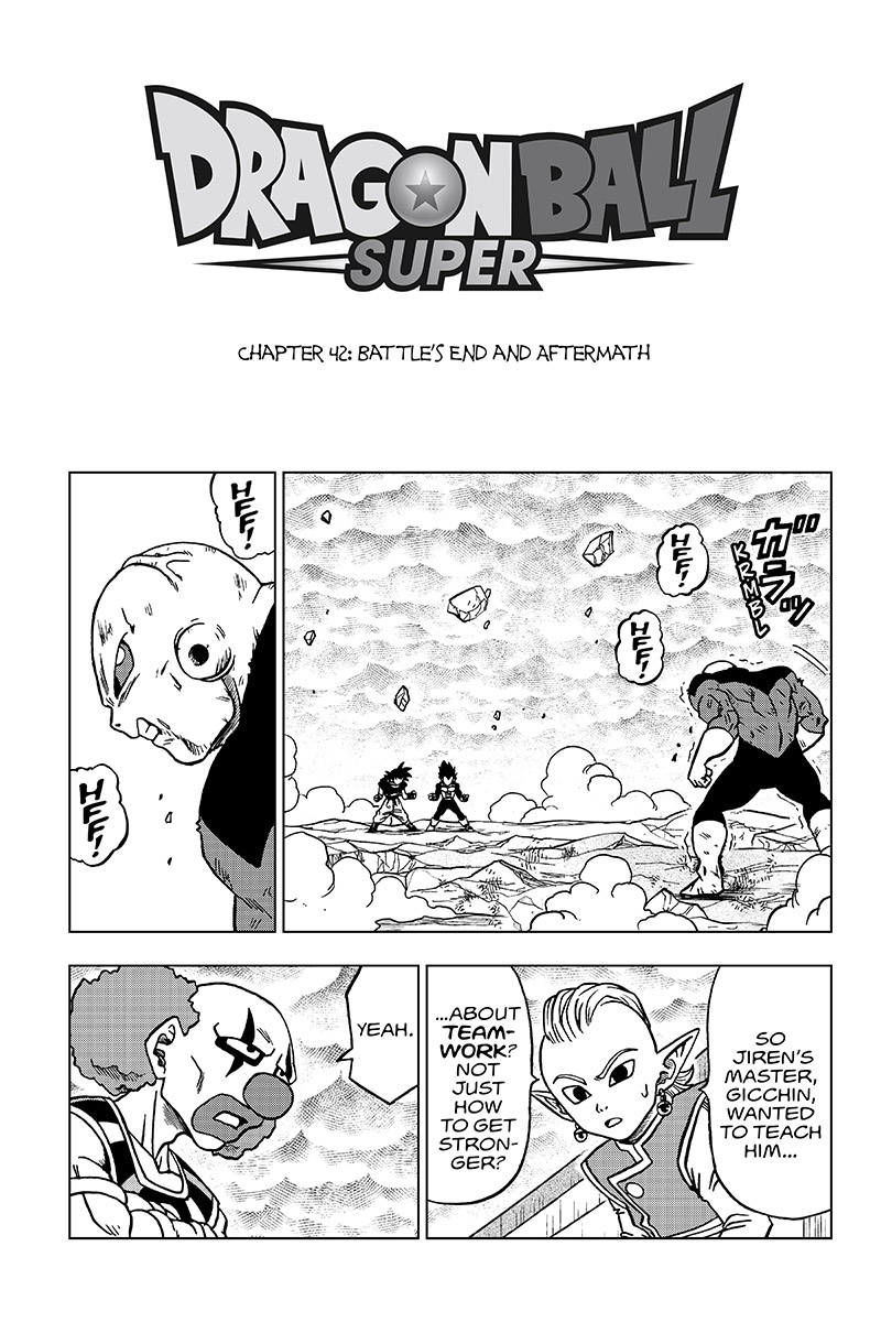 Dragon Ball Super - chapter 42 - #1