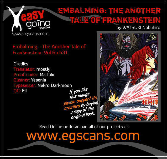 Embalming - The Another Tale of Frankenstein - chapter 31 - #1