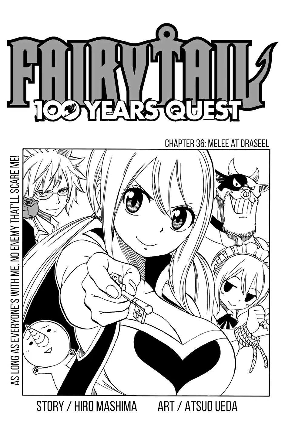 Fairy Tail 100 Years Quest - chapter 36 - #1