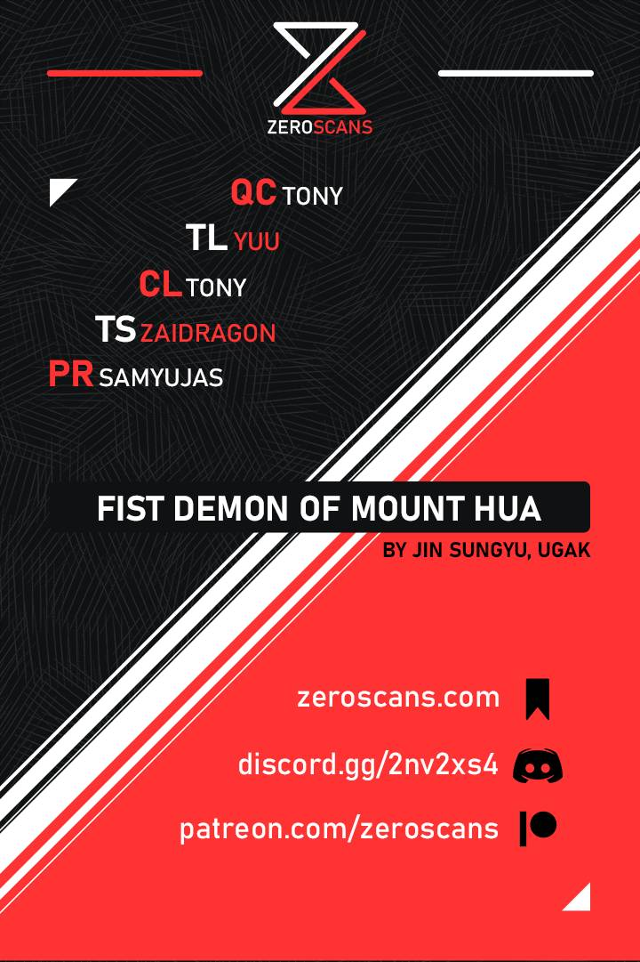 Fist Demon Of Mount Hua - chapter 38 - #1