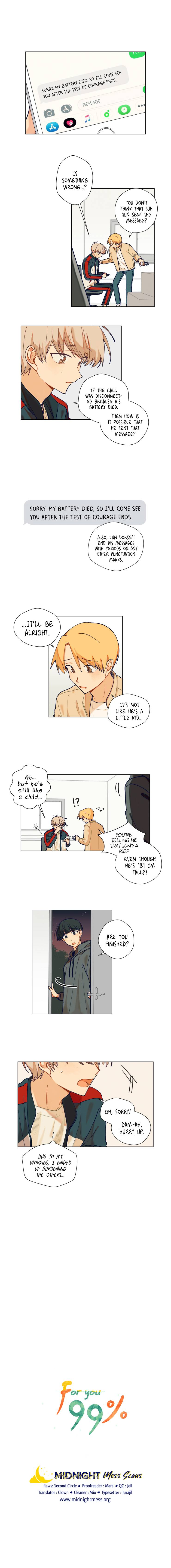 For you 99% - chapter 8 - #1