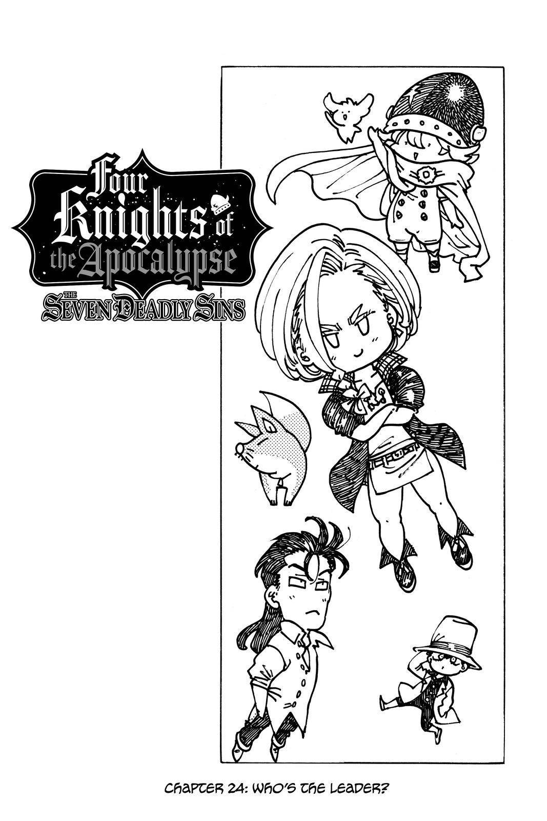 Four Knights Of The Apocalypse - chapter 24 - #2