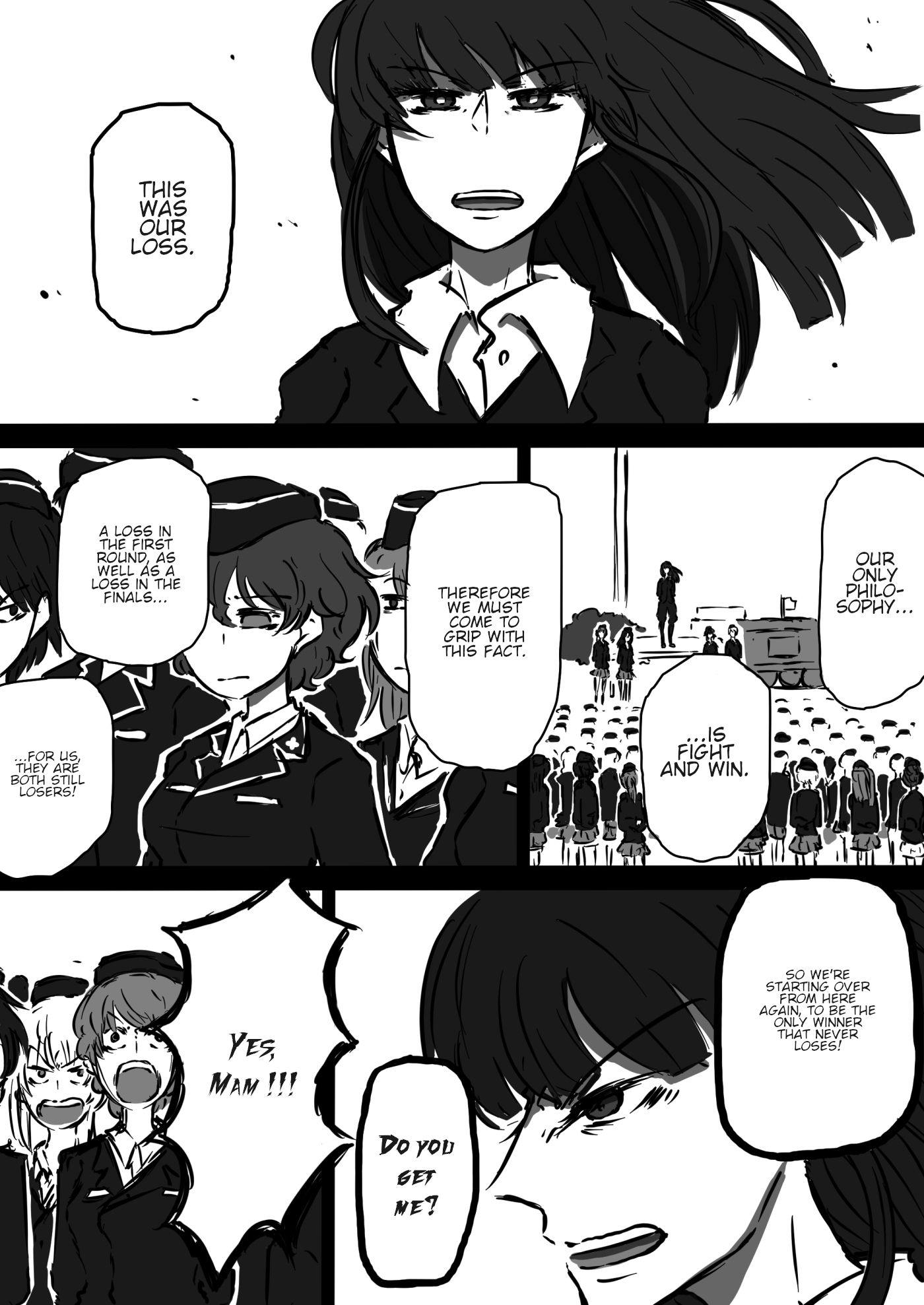 Girls und Panzer - Unofficial Story - Koume's Road - chapter 2 - #2