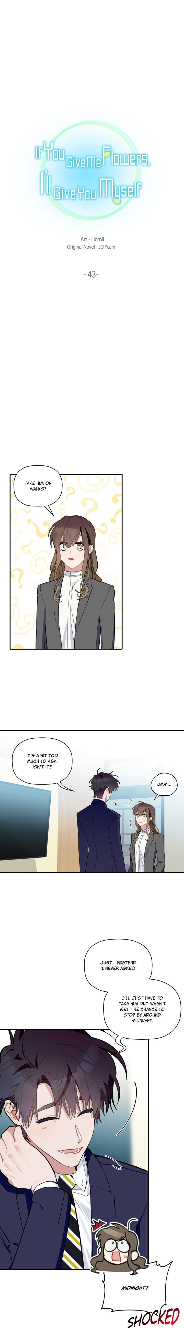 Give Me a Flower, and I'll Give You All of Me - chapter 43 - #2