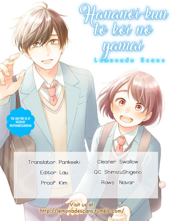 Hananoi-kun to Koi no Yamai - chapter 14 - #2