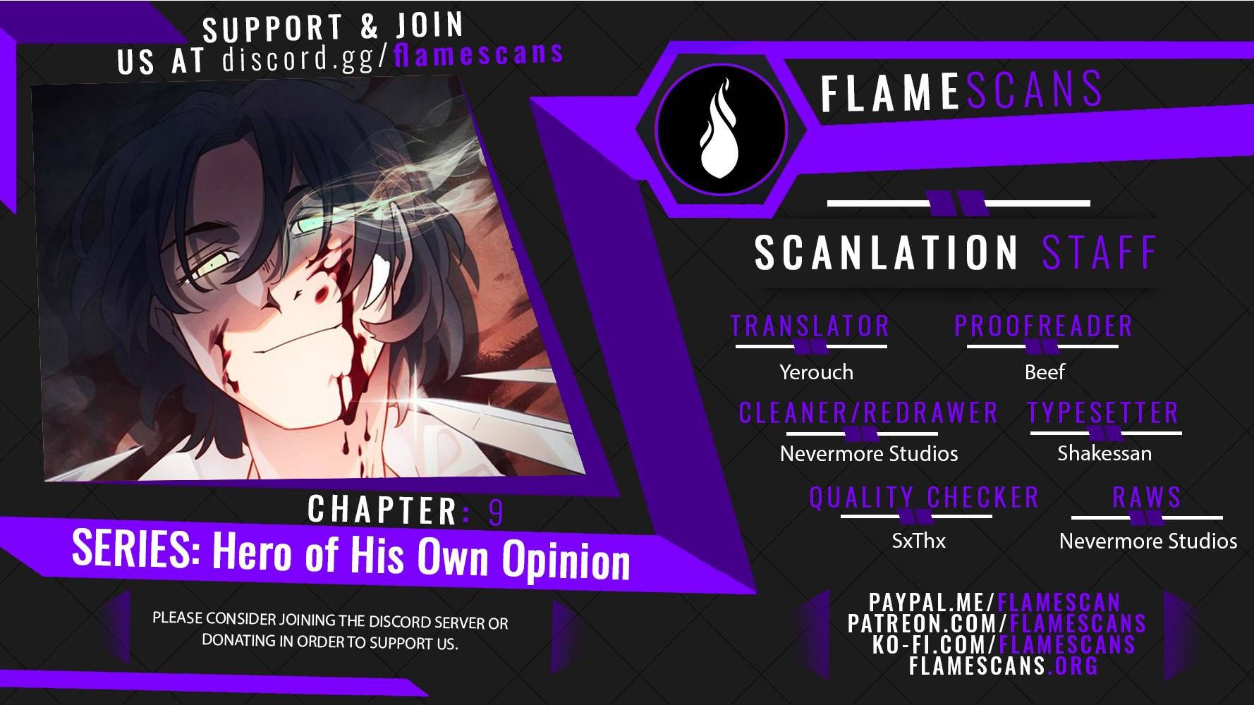 Hero of His Own Opinion - chapter 9 - #1