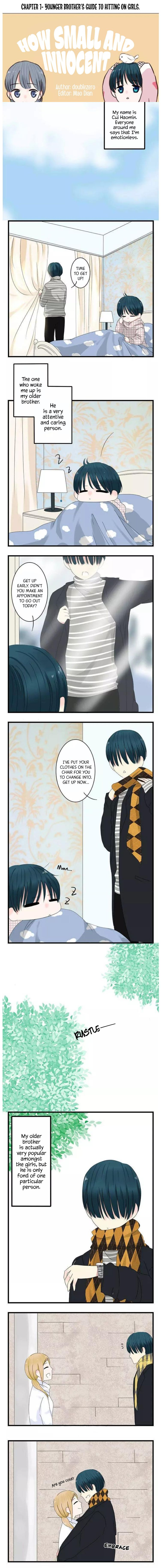 How small and innocent (No Words sequel) - chapter 1 - #1