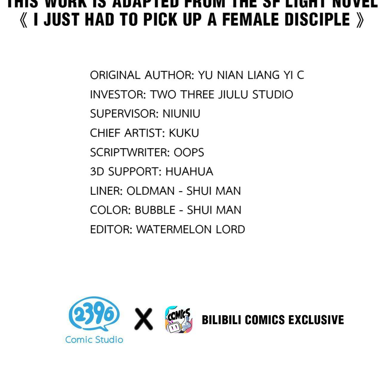 I Just Had To Pick Up A Female Disciple - chapter 9 - #2