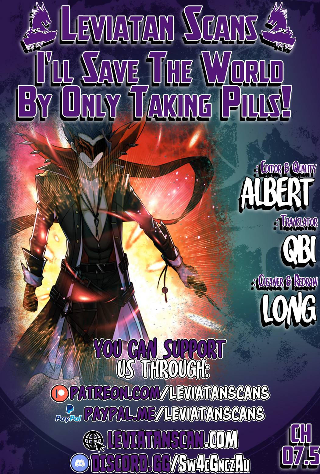 I'll Save The World By Only Taking Pills! - chapter 7.5 - #1