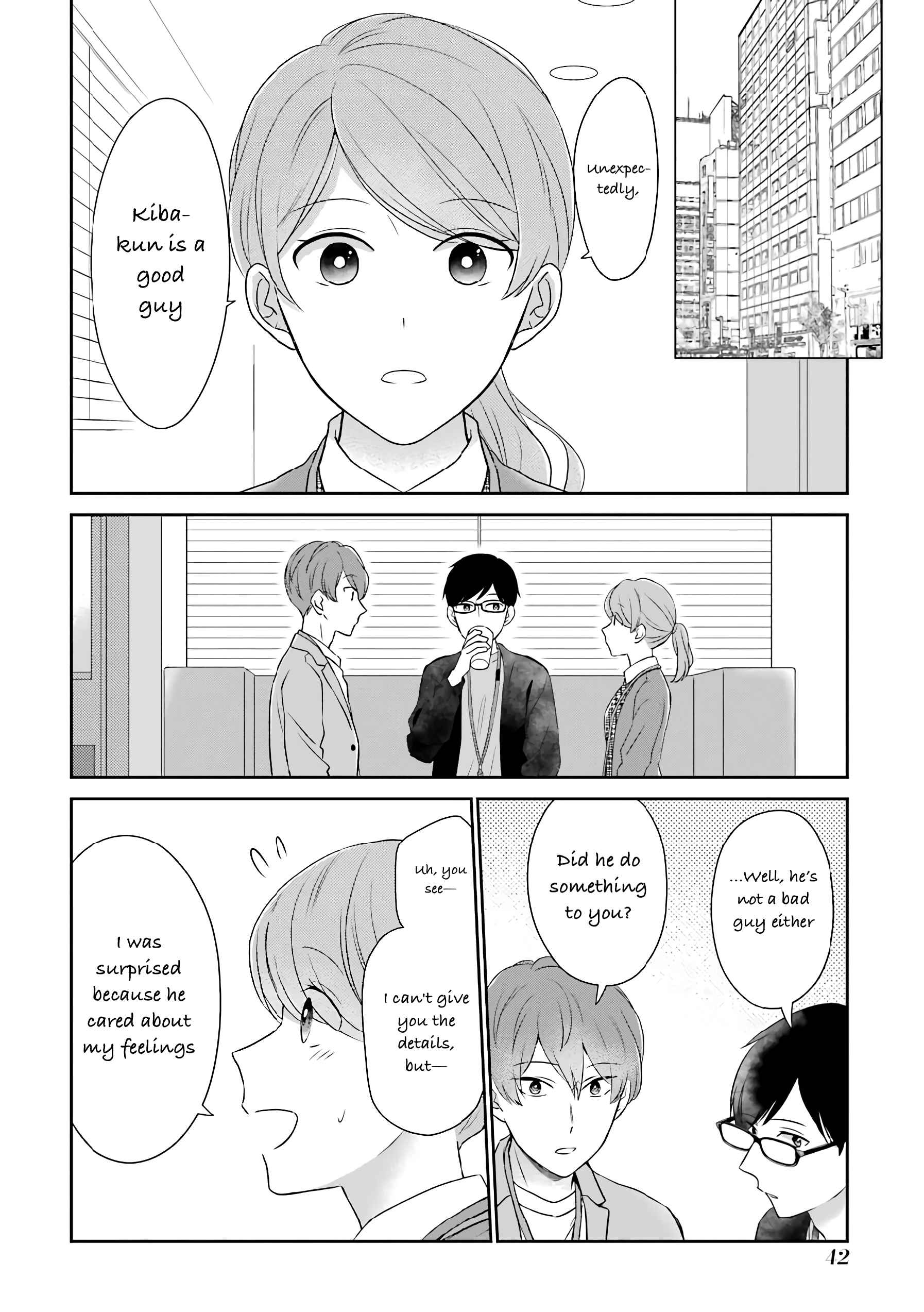 I'm Around Thirty And Finally In Love - chapter 42 - #3