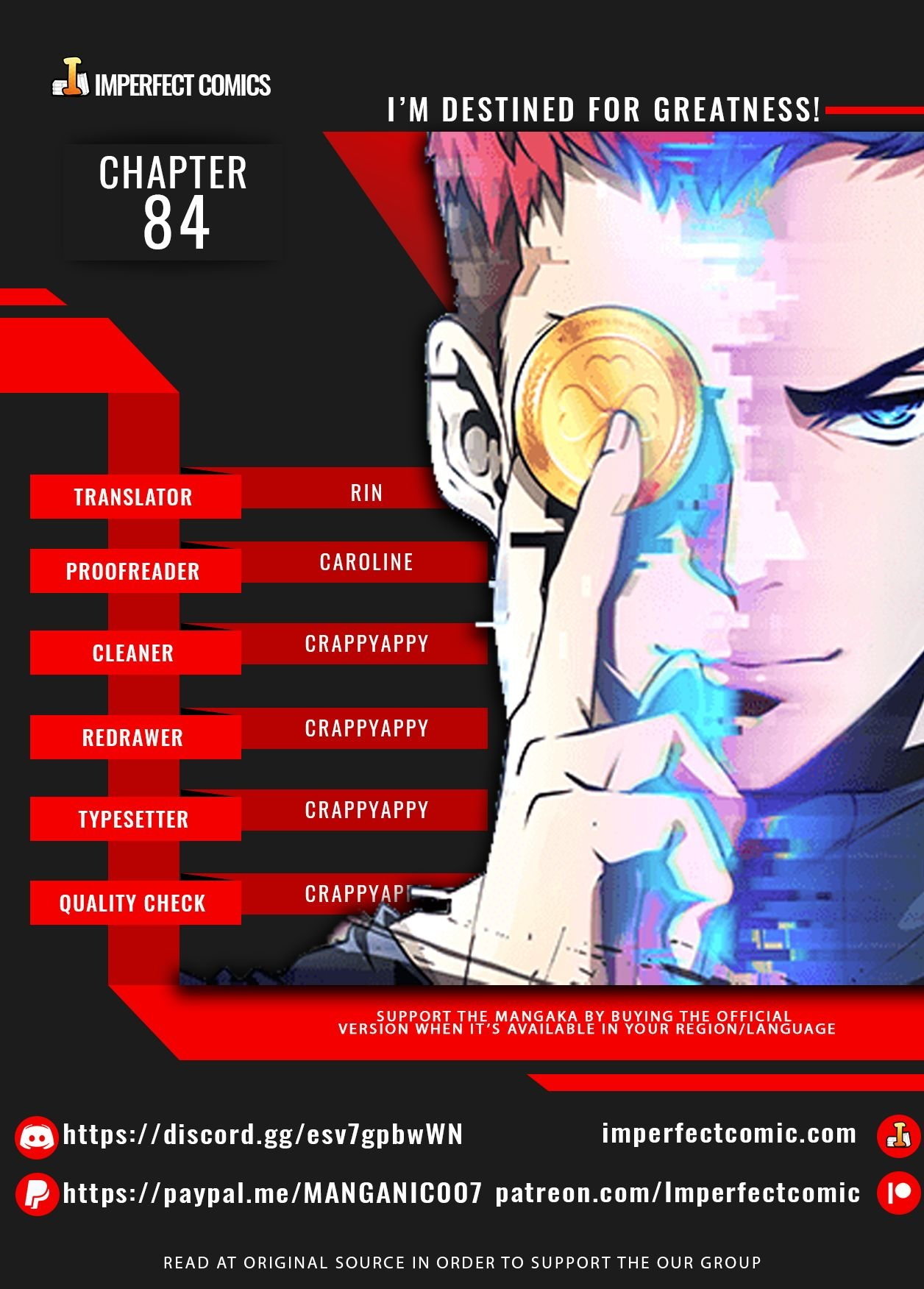 I'm Destined For Greatness! - chapter 84 - #1