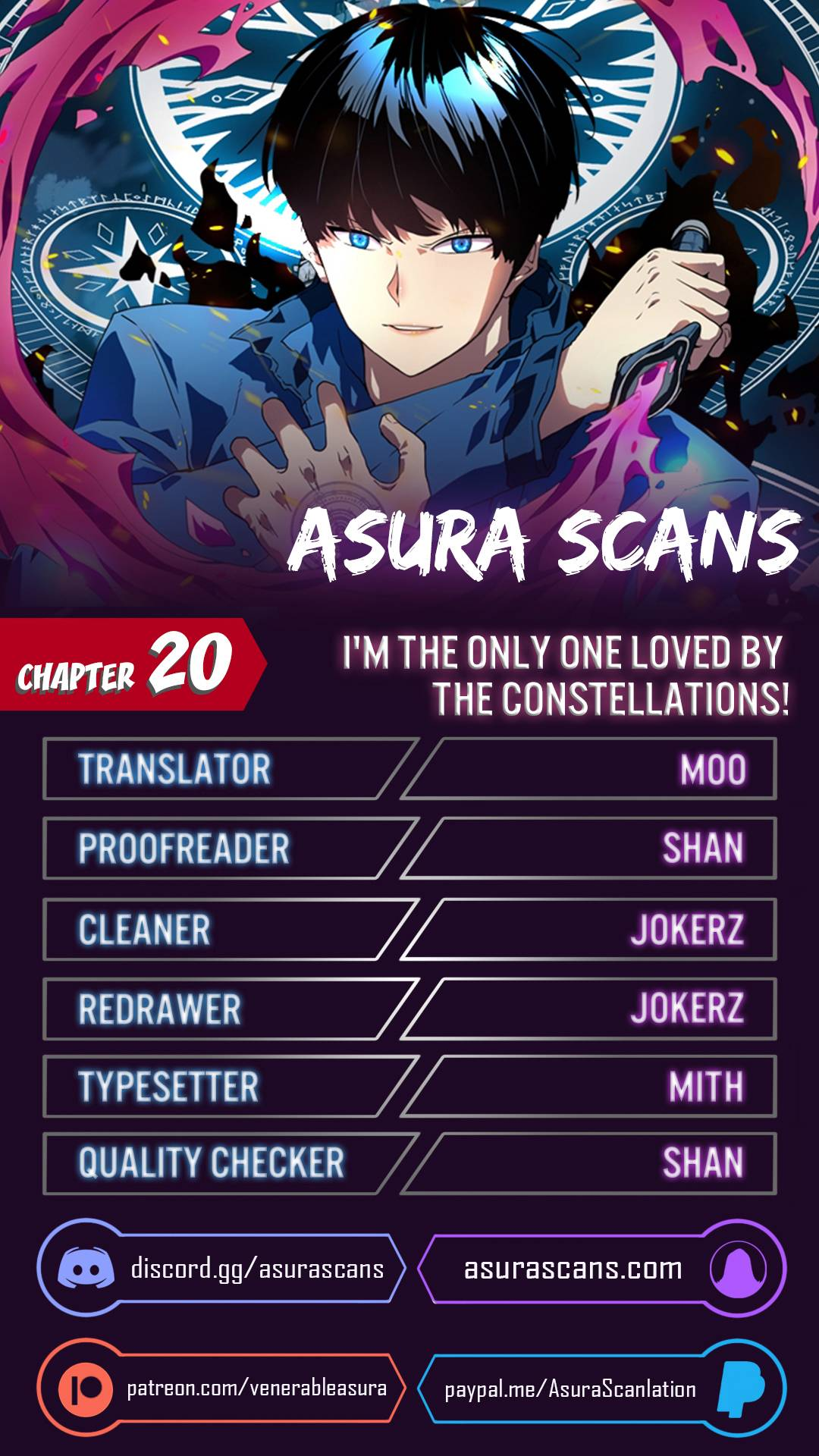 I'm The Only One Loved By The Constellations! - chapter 20 - #1