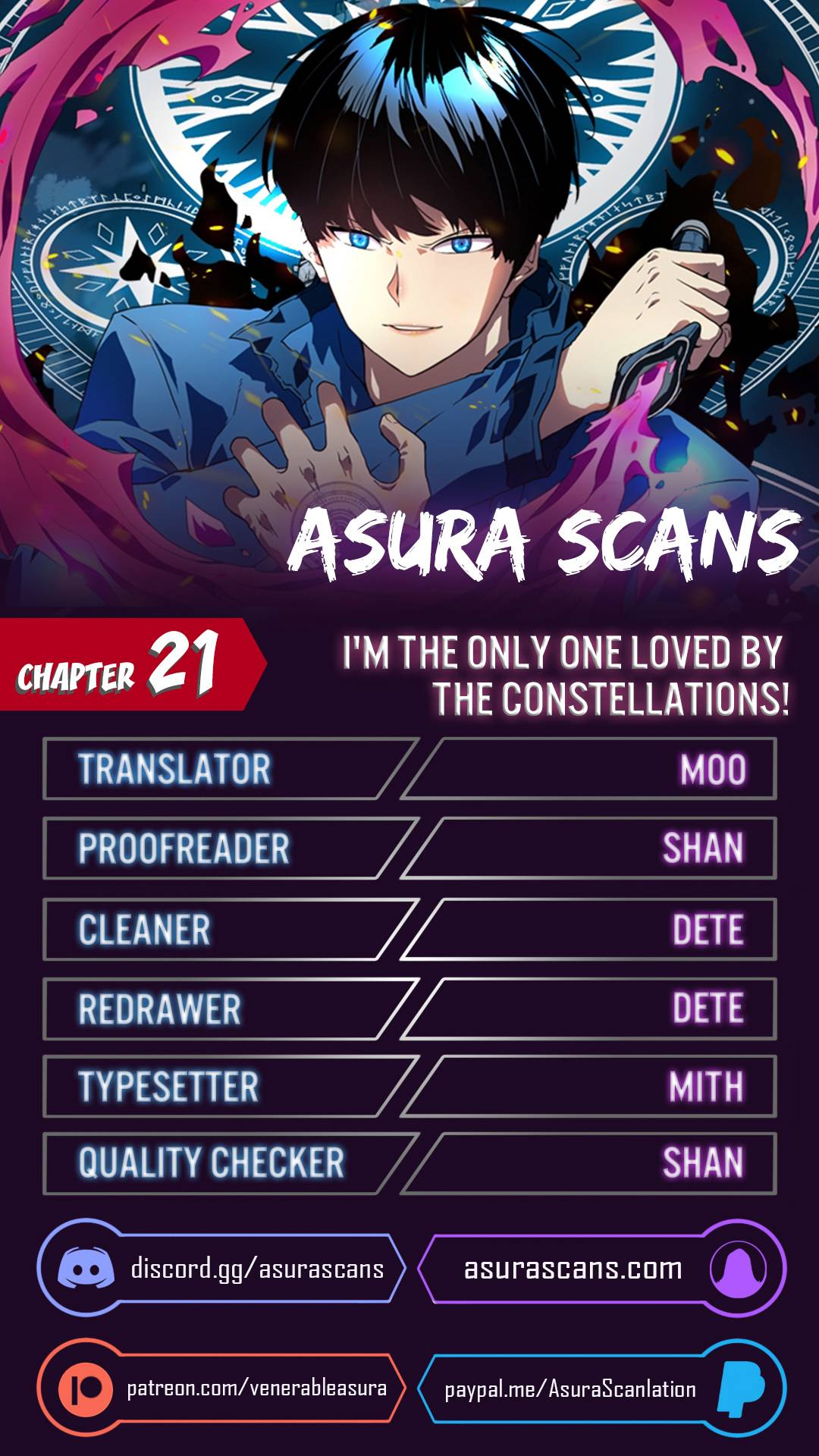 I'm The Only One Loved By The Constellations! - chapter 21 - #1